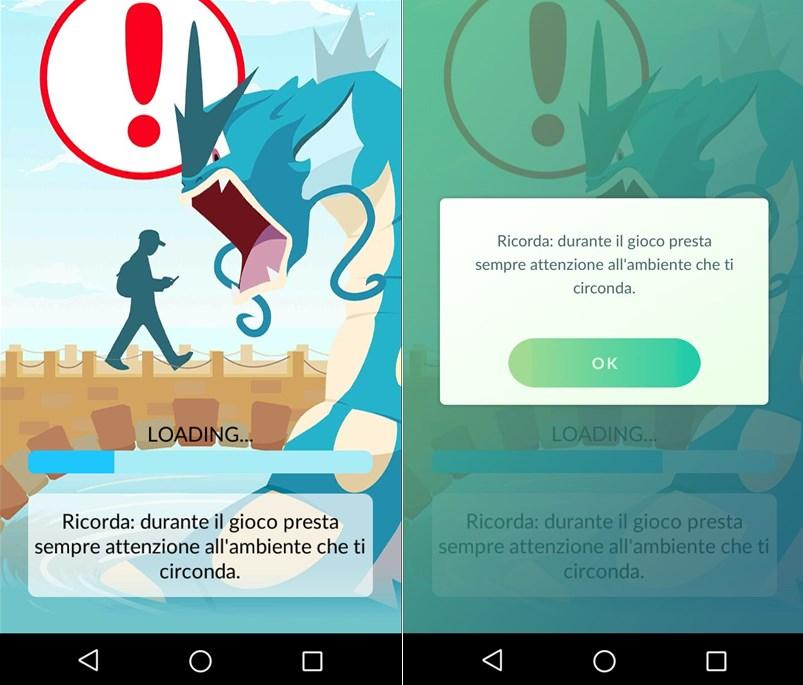 Pokémon Go presta sempre attenzione all'ambiente che ti circonda